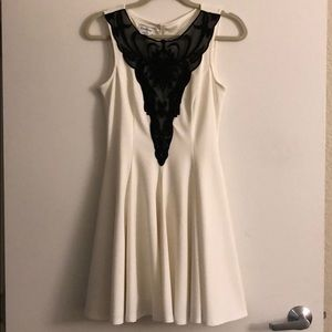 Bebe White/Cream Dress fits Medium